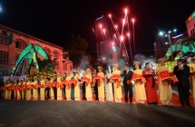 Flower street festival opens in HCM City